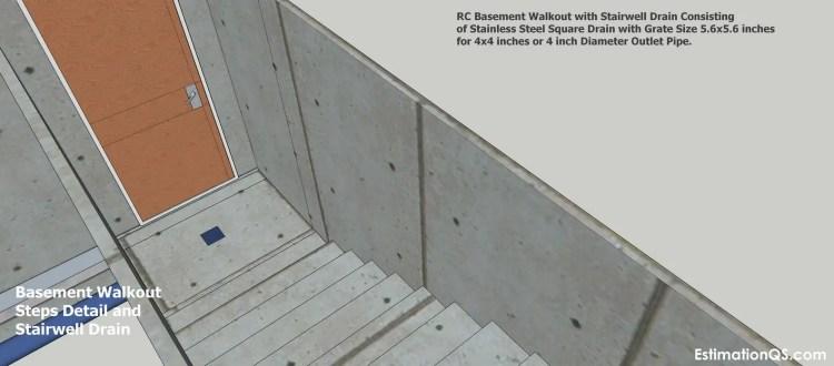 Basement Walkout Steps Detail_8 CUT