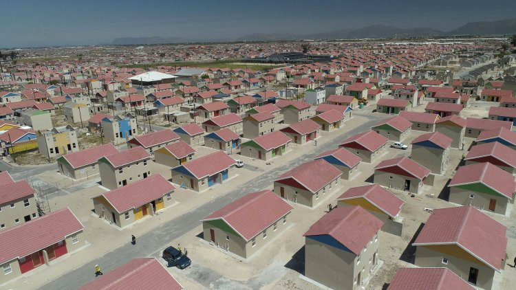 RDP Housing Delft Township in Cape Town (1)