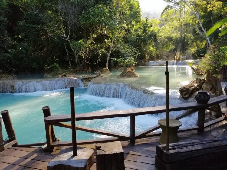 Vanvisa at the Falls, Khouangsy, Luang Prabang, Kouangxi Water Fall, Laos (2)