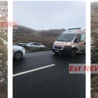 ULTIMA ORĂ Trei tineri, la Urgențe, după un accident rutier lângă Pensiunea Mira