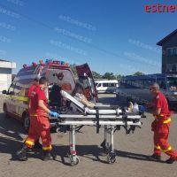 Tânără de 20 de ani, luată cu ambulanța din Autogara Vaslui, după ce i s-a făcut rău în timp ce aștepta autobuzul spre casă