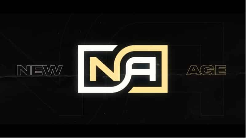 The Team New Age esports logo
