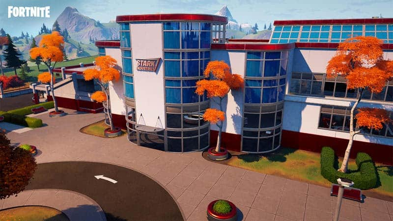 The Stark Industries headquarters as they appear in game