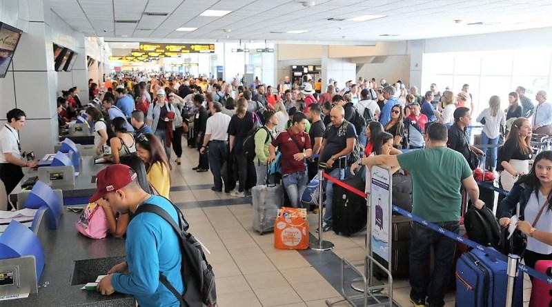 Más de 80 mil pasajeros pasaron por el Aeropuerto de Tocumen, durante Carnavales.