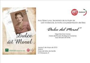 invitacion presentacion libro Dulce