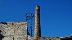 Zelluloosi kvartal Tallinn Estonia smokestack bricks