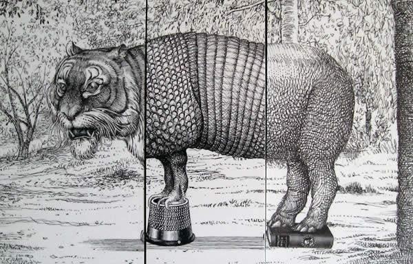 Javier Sáez Castán; ilustración, experimento y juego