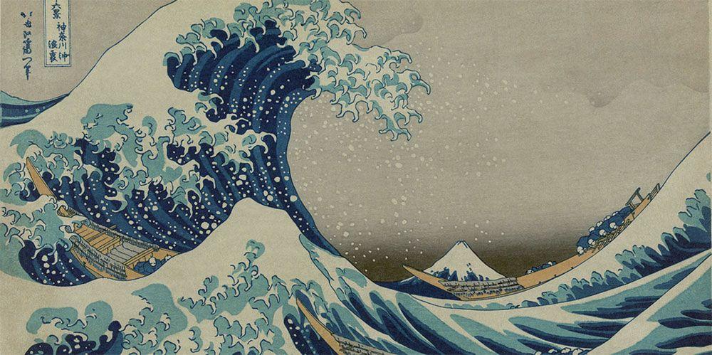 Las treinta y seis vistas del Monte Fuji de Katsushika Hokusai