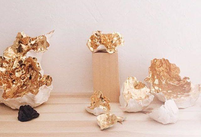 Corales de cerámica y otras joyas de Julieta Álvarez