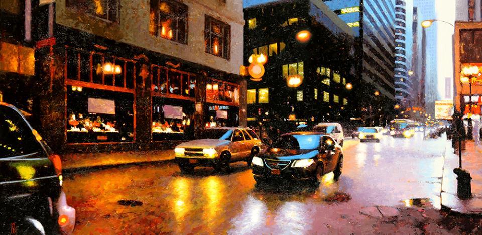 La luz en las ciudades de Jon Landa