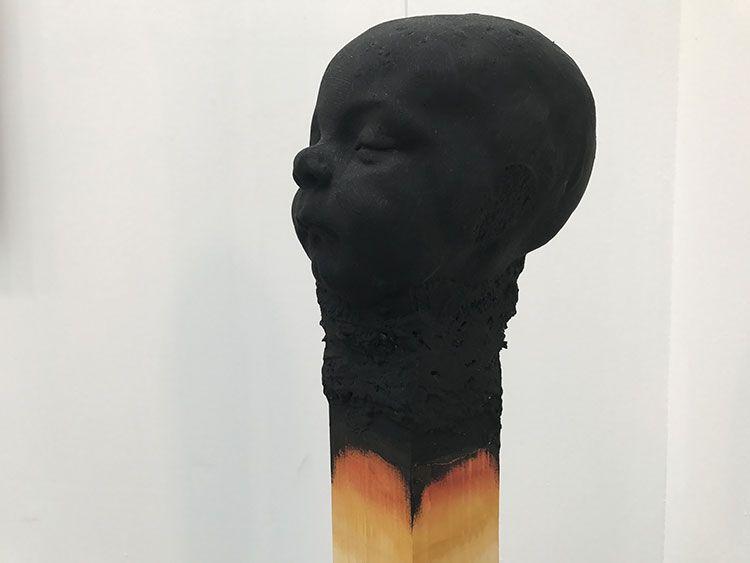 Matchstick men, las cerillas talladas de Wolfgang Stiller