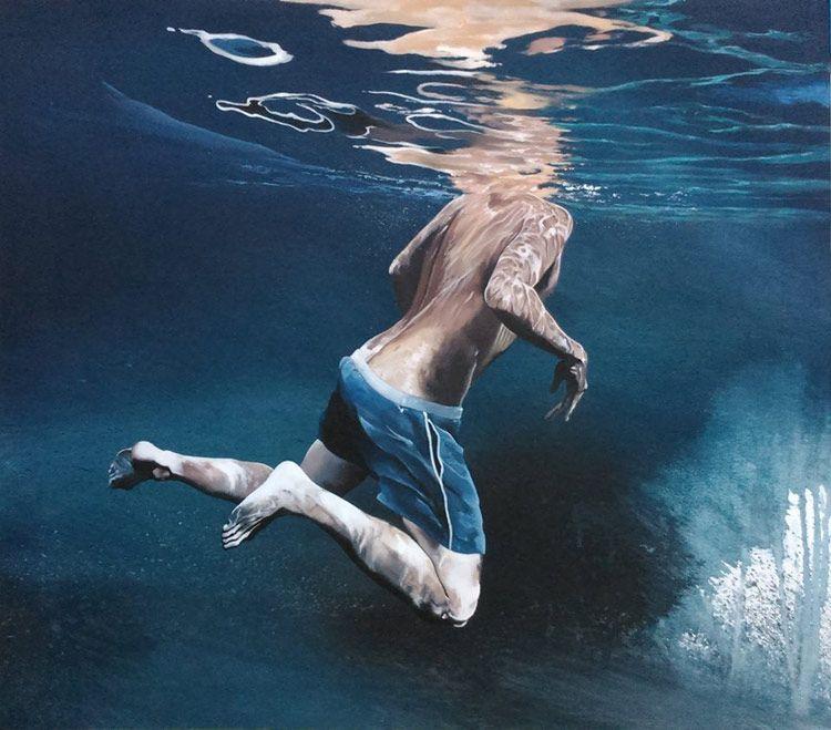Las refrescantes pinturas de Raúl Álvarez