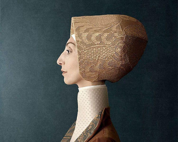 """""""1503"""", modernos retratos de renacentistas de Christian Tagliavini"""