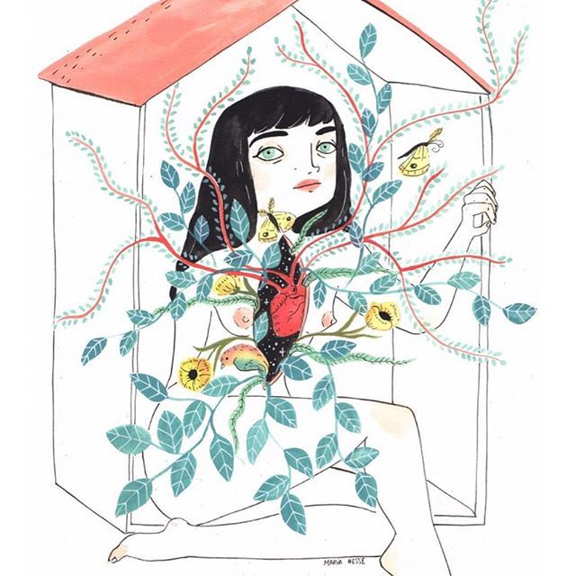Maria Hesse, ilustraciones en femenino
