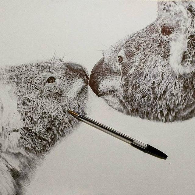 La maternidad animal y otros dibujos de Pat Moreno