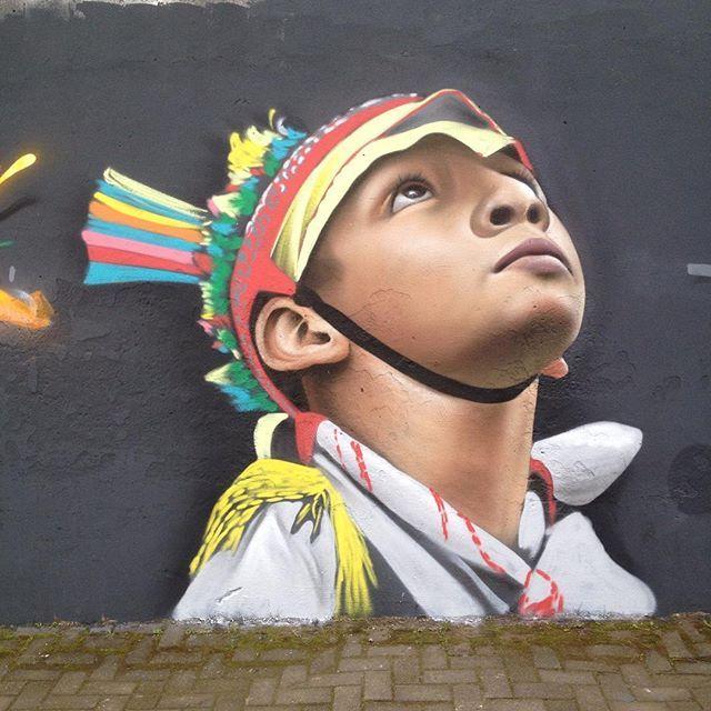 Koka Engel, street art con sabor mexicano