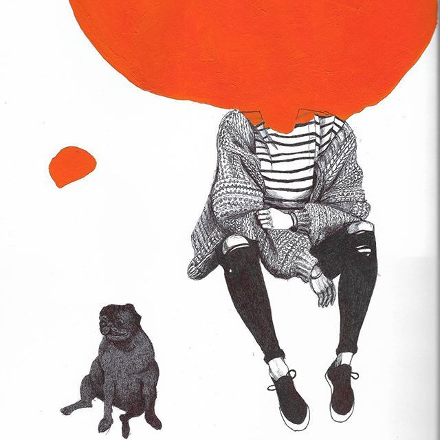 Las surrealistas ilustraciones de Karolina Kawa