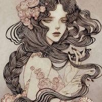 El estilo romántico y modernista de las ilustraciones de Jin