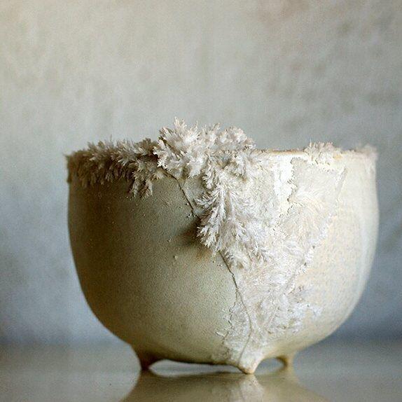 Cerámica escarchada y otras creaciones de Lucía Díaz Barrales