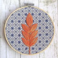 Los bordados geométricos de Jennifer Plott
