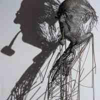 Las esculturas de alambre de Darius Hulea