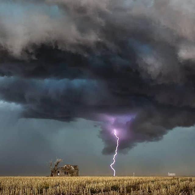 Las fotografías de Jason Weingart, cazador de tormentas