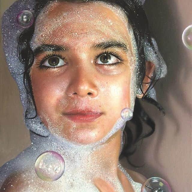 Las hiperrealistas pinturas de Mustafa Yüce