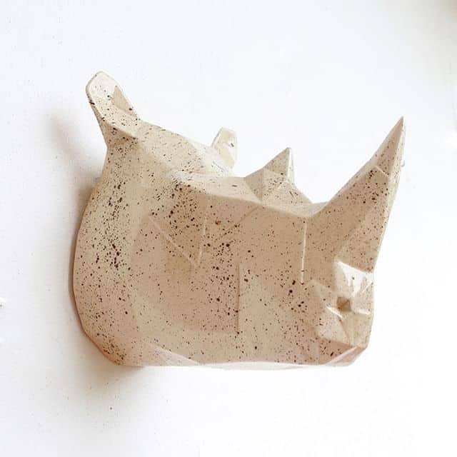 Taxidermia en cerámica de Zutopía