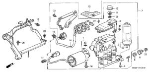 Acura online store : 1997 integra abs modulator (1) parts
