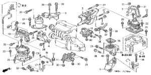 Acura online store : 2007 tsx engine mounts (mt) parts