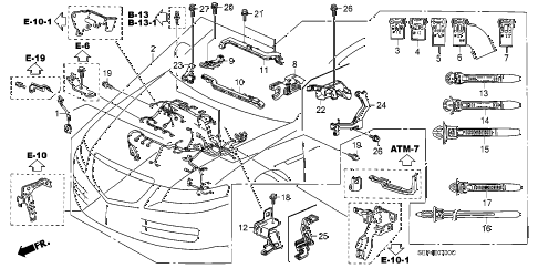 T10733110 Need firing order diagram 1999 chrysler additionally Engine Diagram For 2005 Dodge Stratus further Nissan Pickup Stereo Wiring Diagram together with C6500 Turn Signal Relay Location also Servo Wiring Diagram Gt5 2. on 2008 acura mdx fuse diagram