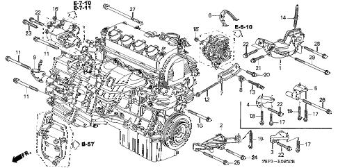 Parts Diagram 2002 Honda Civic – Periodic & Diagrams Science