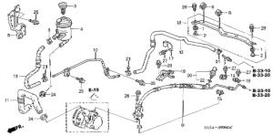 Honda online store : 2003 crv ps lines parts