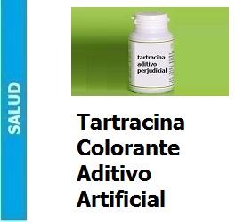 Tartracina colorante aditivo artificial, Tartracina colorante aditivo artificial