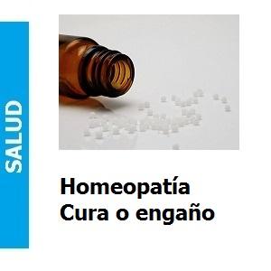 Homeopatía cura o engaño, Homeopatía cura o engaño