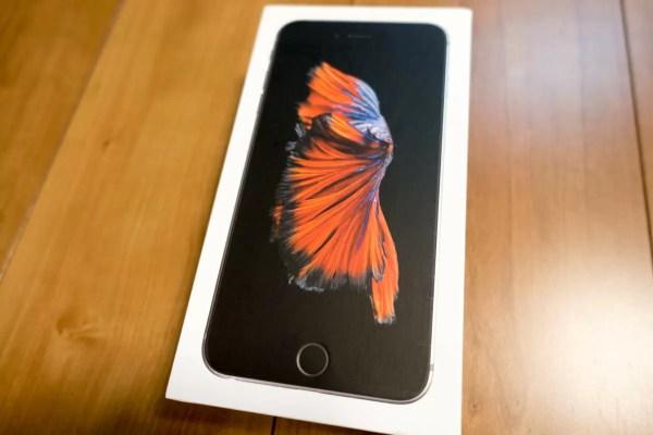 海外版iPhone 6s Plus