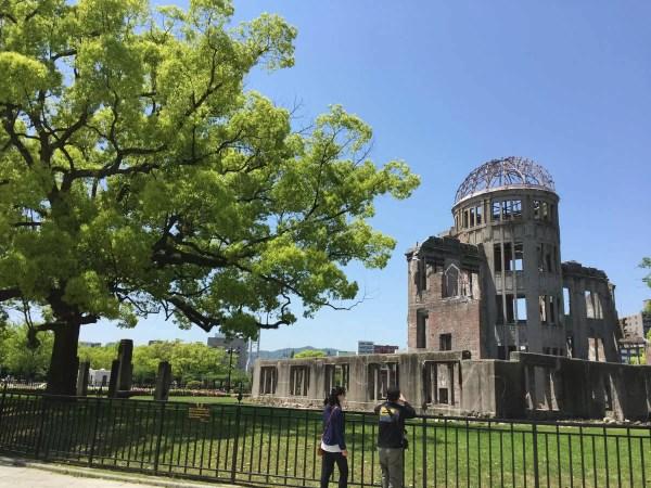 東京起点だと広島は非常に遠い