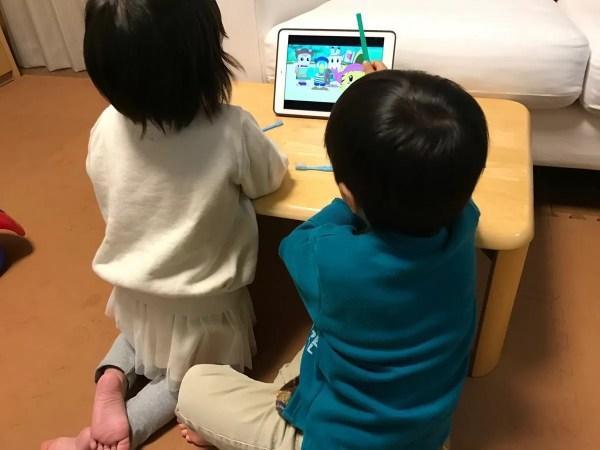 子供の動画視聴マシンとなったiPad Air 2(SIMフリー)