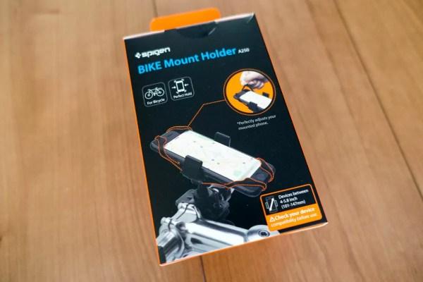 スマホホルダー バイクマウントのパッケージ
