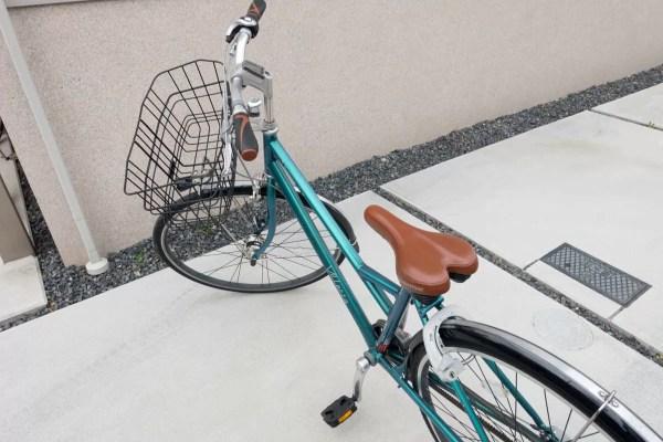 チーの自転車