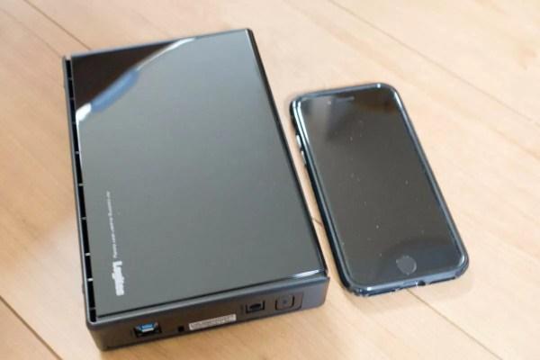 iPhone 7とのサイズ比較