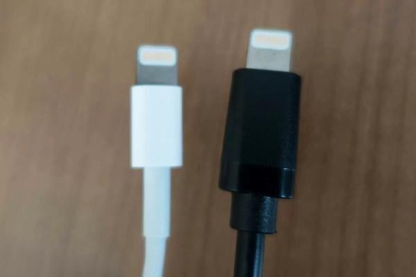 Apple純正ケーブルと比較