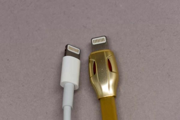 Apple純正ケーブルとの比較