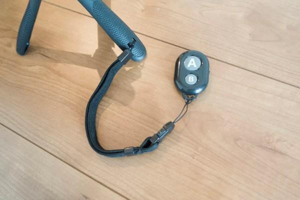 Bluetoothのリモートシャッターもある
