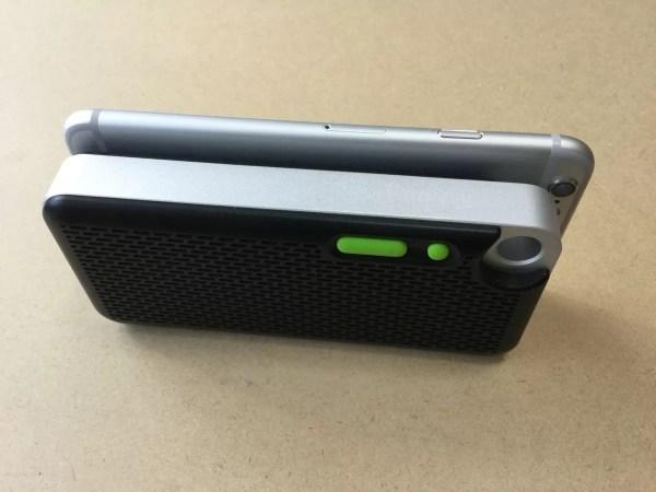 iPhone 6との厚さ比較