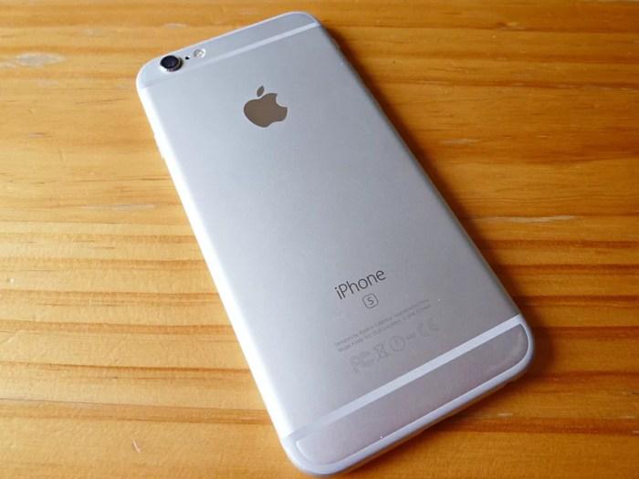 iPhoneの背面