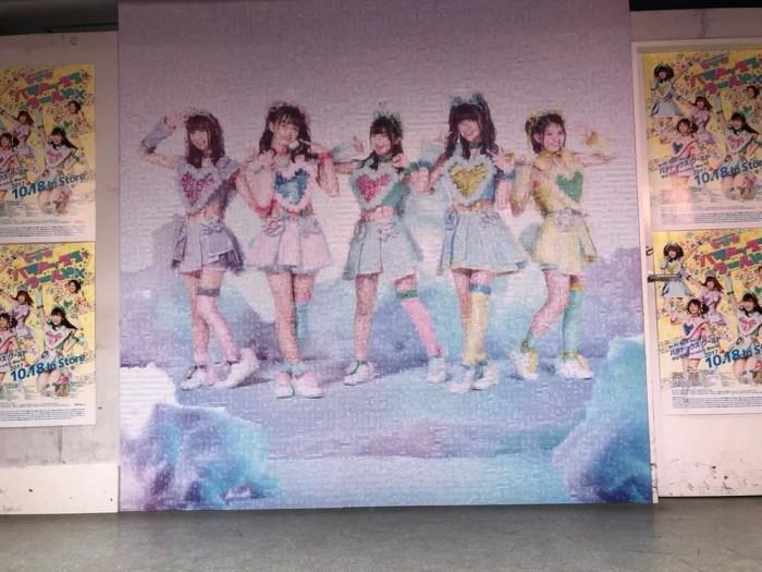 JOL原宿のイベントステージ