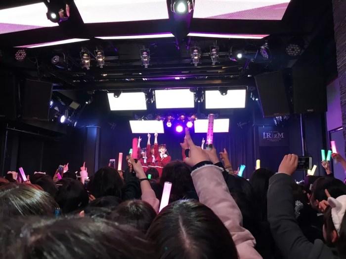ライブの雰囲気