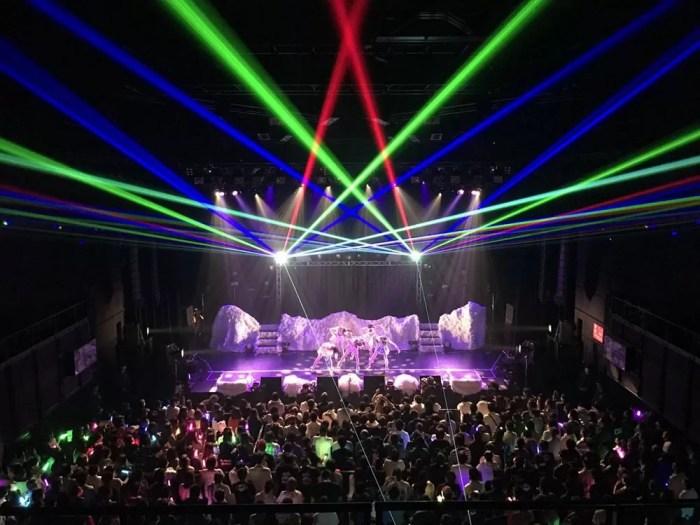 赤坂BLITZのライブ