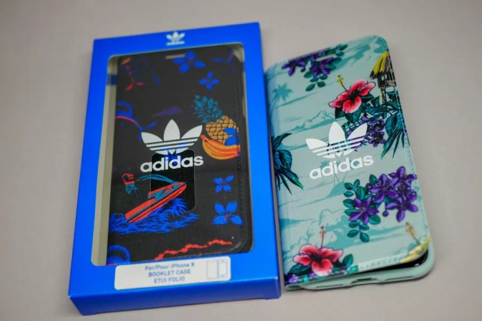 adidas Originals Floral Booklet case iPhone X